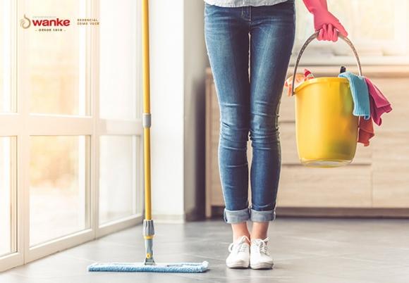 7 coisas para evitar ao limpar a sua casa.