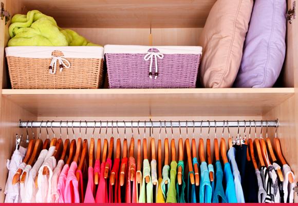 Dicas de como organizar seu guarda-roupa para a primavera