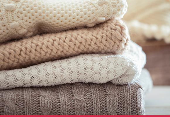 Roupas de inverno bem cuidadas: dicas para cuidar das suas roupas de lã.